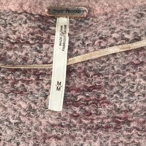 Free People Sweaters - Free People oversized v neck M/L sweater